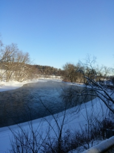 Missisquoi River January